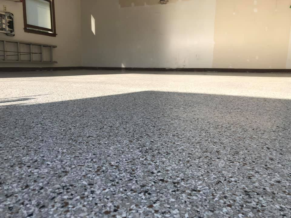 After [Flake] California Grey with light grey base-Harrisburg
