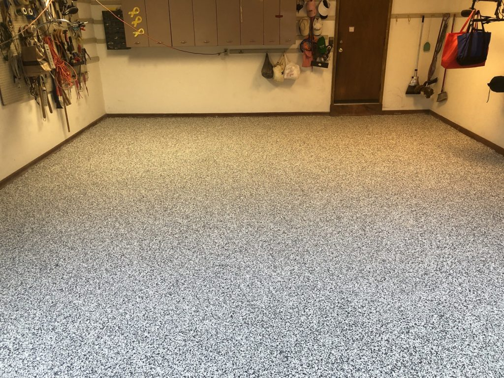 After [Flake] California Grey with white base-Colonial Park