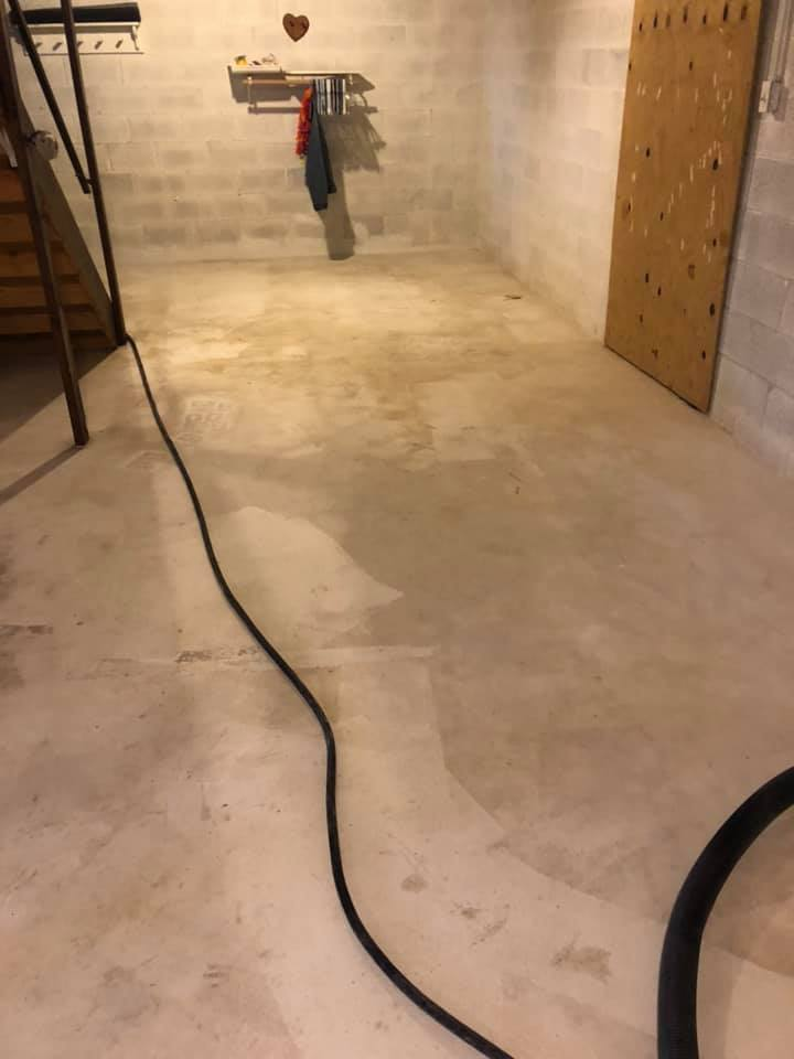 Before [Epoxy] Solid Color Light Grey-Hummelstown